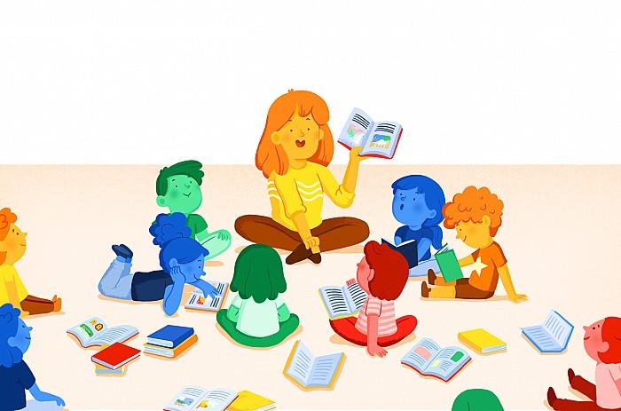 Imatge del curs Biblioteca escolar i animació de la lectura