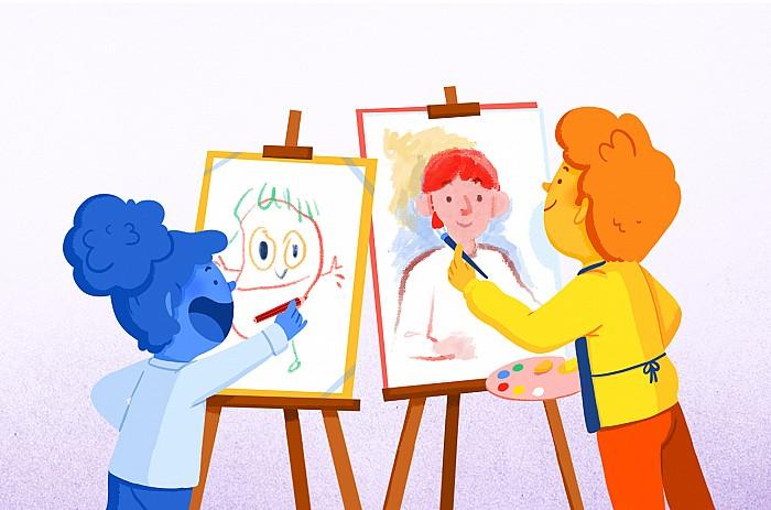 Imatge del curs Educació visual i plàstica: una nova mirada educativa
