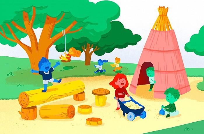 Imatge del curs El pati com a espai d'aprenentatge