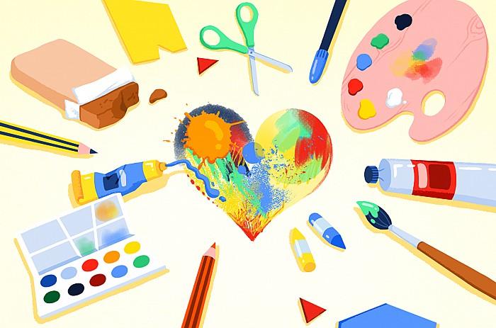 Imatge del curs Aplicació de l'educació visual i plàstica a l'aula